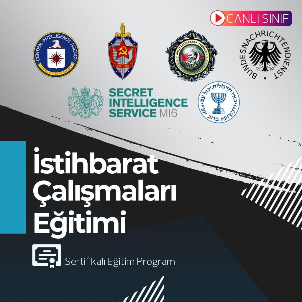 İSTİHBARAT ÇALIŞMALARI PROGRAMI- ÜNİVERSİTE ONAYLI SERTİFİKALI